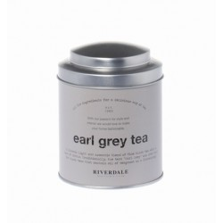 Riverdale Blik Earl Grey Tea grey 12cm