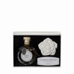 Diffuser pure silk white